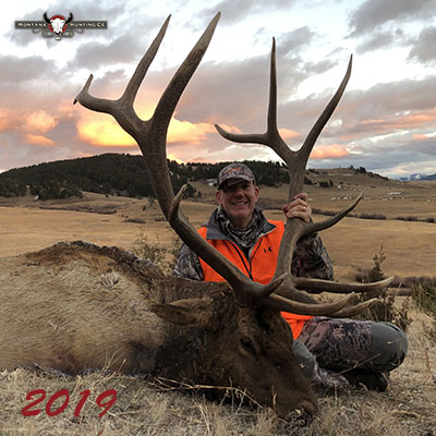 Hunter with his Trophy Bull